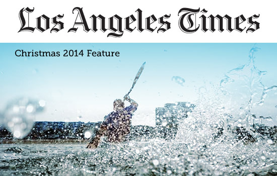 Cliff Meidl: Los Angeles Times Christmas 2014 Feature
