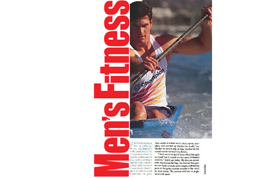 Cliff Meidl on Men's Fitness