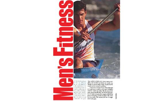 Cliff Meidl on Men's Fitness