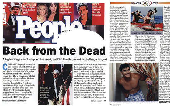 Cliff Meidl featured on People Magazine