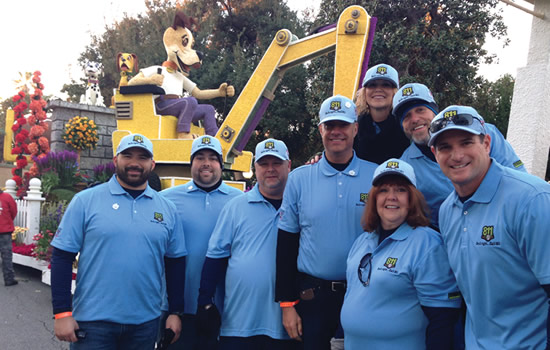 Cliff Meidl at Rose Parade 2015