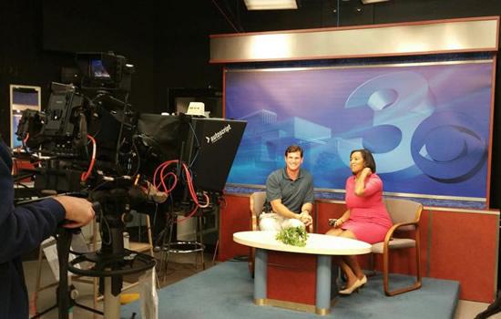 Cliff Meidl on Georgia Media Tour
