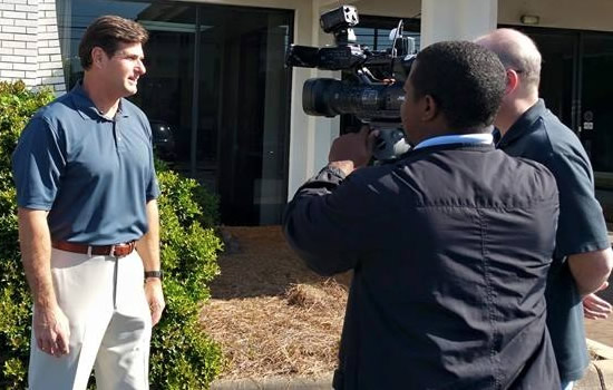 WTVM News Leader 9 interviews Cliff Meidl