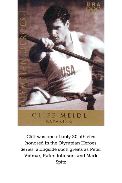 Cliff Meidl honored in the Olympian Heroes Series