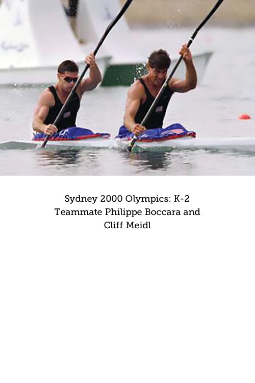 Cliff Meidl at Sydney 2000 Olympics